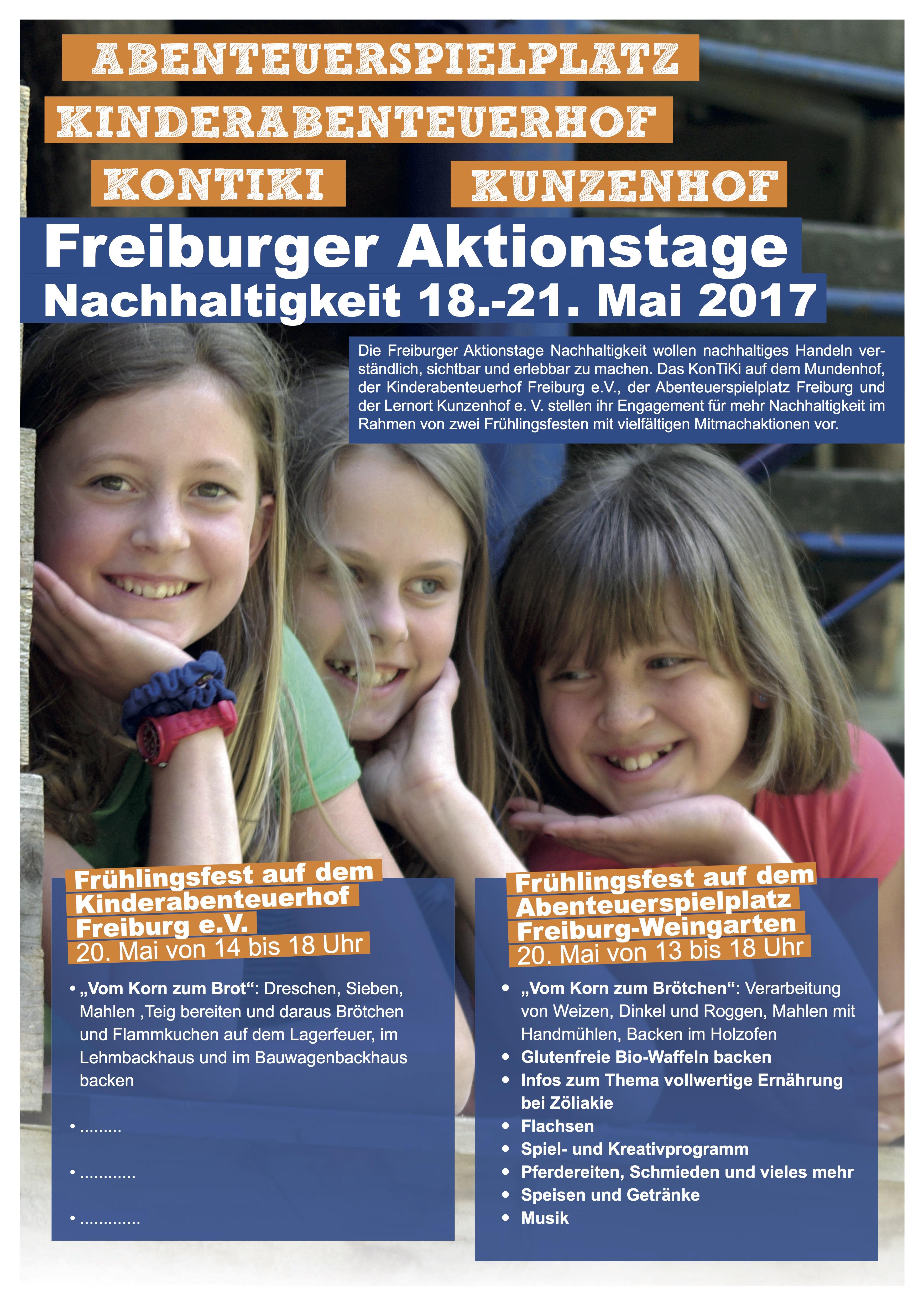 Freiburger Aktionstage Nachhaltigkeit