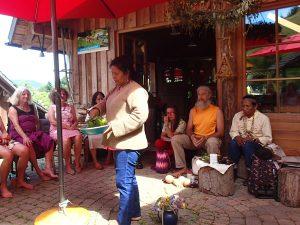 Rituale zur Verbundenheit mit Mutter Erde aus dem Kolumbianischen Regenwald