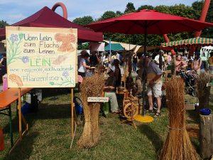 Beim Agrikulturfestival gab es an unserem Stand viel zu staunen...